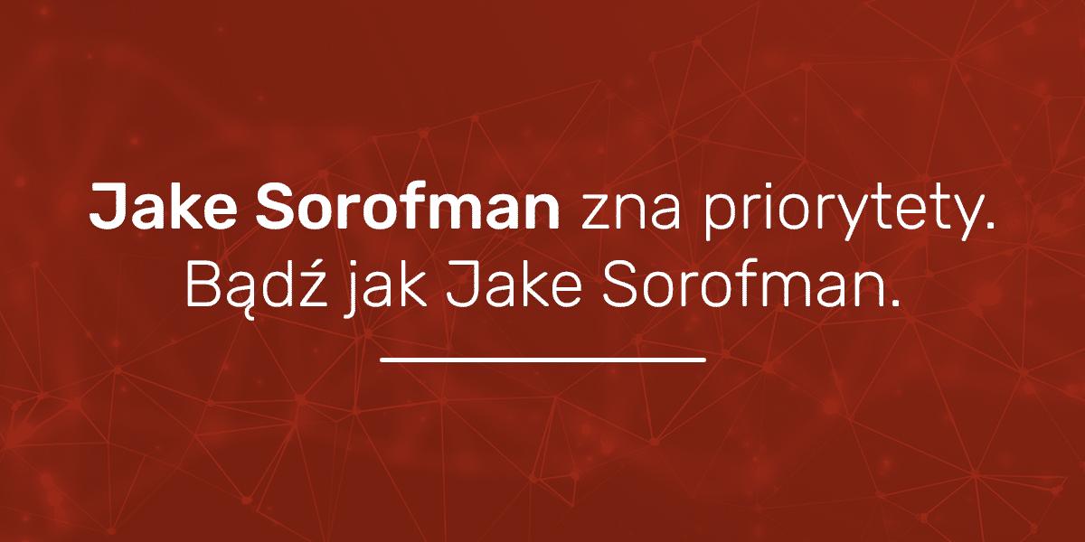 Banner Jake Sorofman Zitat